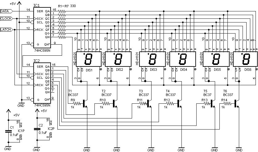 Schema Elettrico Orologio Da Quadro : Schema elettrico orologio digitale ilbisturi