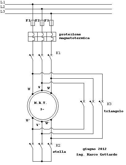 Schema Elettrico Marcia Arresto : Motor sincrono e incrono impremedia