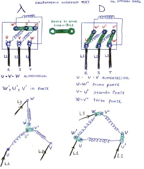 Schema Elettrico Per Avviamento Stella Triangolo : Pin collegamento stella on pinterest