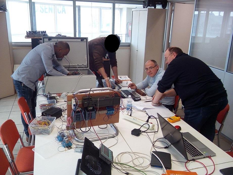 Amadou Michele Roberto alla G-Tronic Robotics 8 Aprile 2018