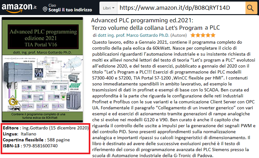 Libro Advanced 2021