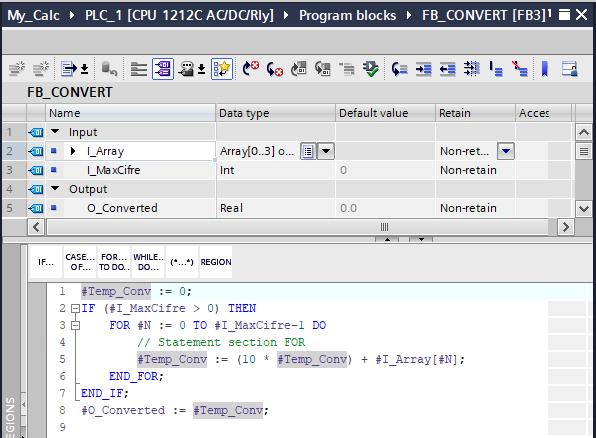 funzione di conversione da cisfra a numero completo