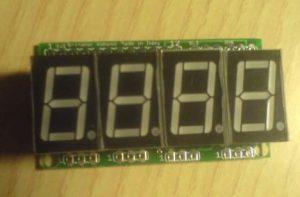 Display Micro-GT per orologio