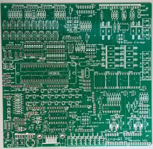 Micro-GT IDE prima serie lato componenti