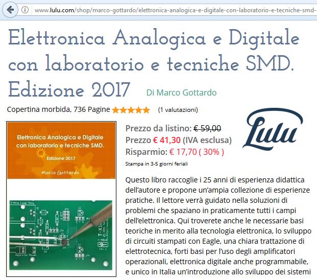 Elettronica Analogica e digitale con tecniche smd Gottardo 2107