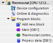 thermostat project tree Micro-GT