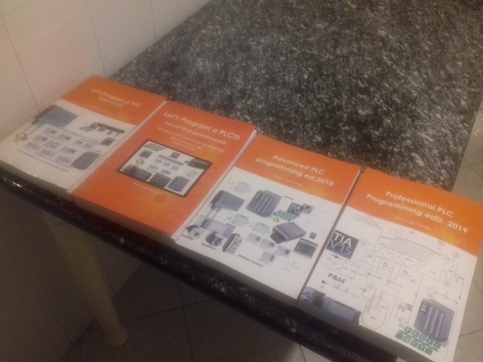 Collana completa Libri PLC G-Tronic
